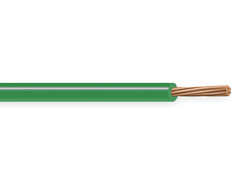 22 AWG Stranded Hook-Up Wire, by the Foot - Green