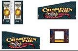 Cabinet Decals - Champion Pub