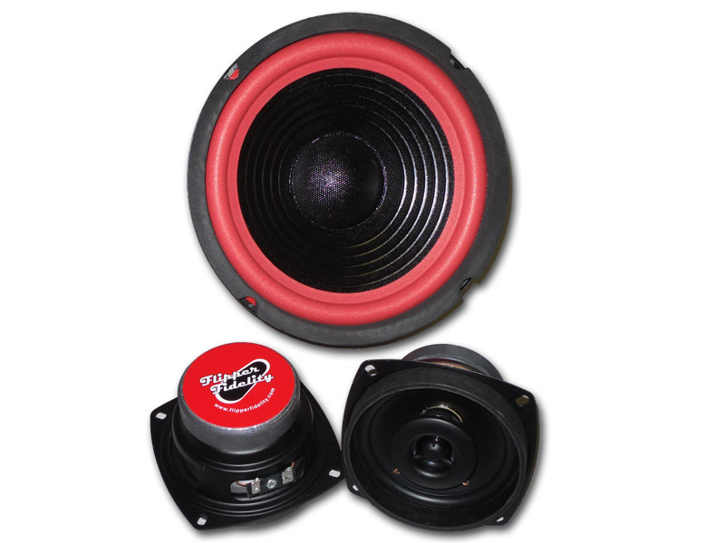 "Flipper Fidelity 4"" Coaxial Speaker and Subwoofer Set - Click Image to Close"