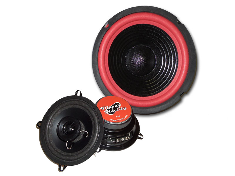 "Flipper Fidelity 5.25"" Coaxial Speaker and Subwoofer Set"