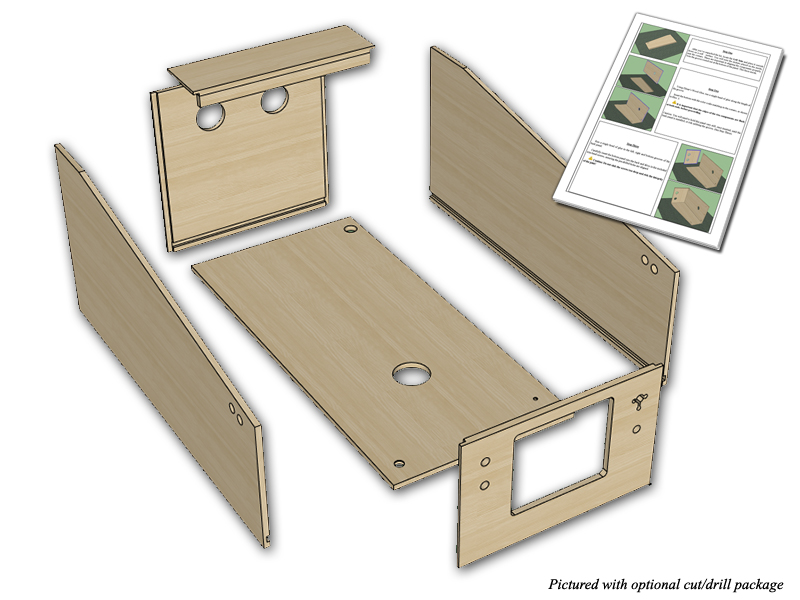 Flat pack wpc style widebody virtual pinball cabinet for Cheap flat pack kitchen cabinets