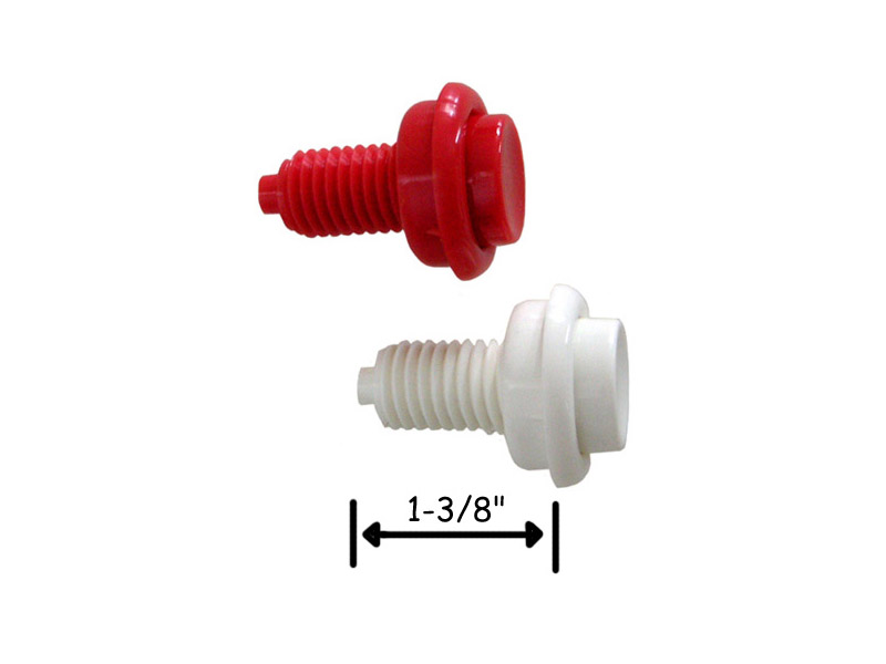 "Flipper Button - 1-3/8"" Length - Click Image to Close"