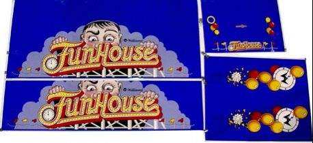 Cabinet Decals - Funhouse