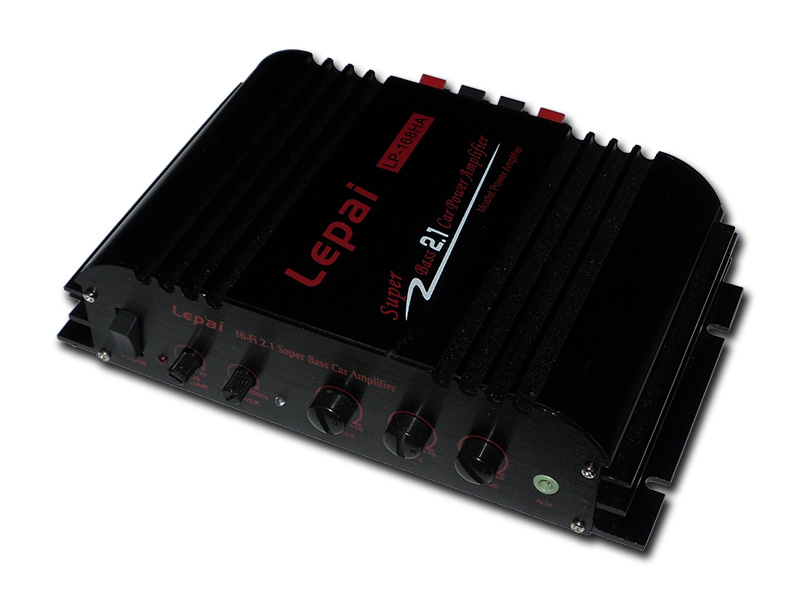 Lepai LP-168HA 2.1 2 x 40-Watt Amplifier and 1x68W Sub Output