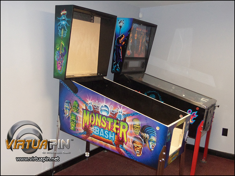 WPC-style Standard Body Virtual Pinball Cabinet - Satin Finish