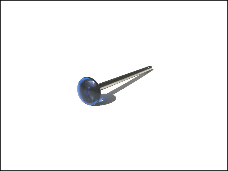 Ball Shooter (Plunger) Rod - Blue Translucent Knob