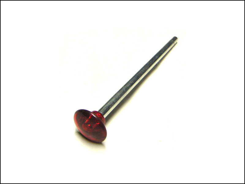 Ball Shooter (Plunger) Rod - Red Translucent Knob