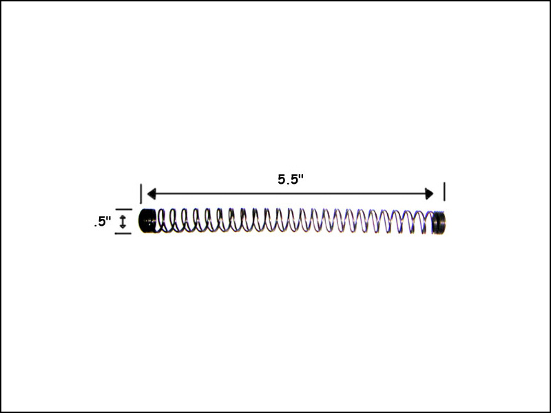 Ball Shooter (Plunger) Inner Spring