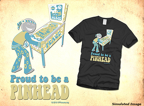 Proud to Be a Pinhead T-Shirt