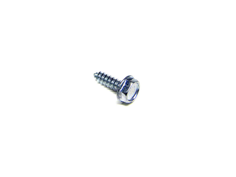 "#6 x 1/2"" Unslotted Hex Head Screw - Click Image to Close"