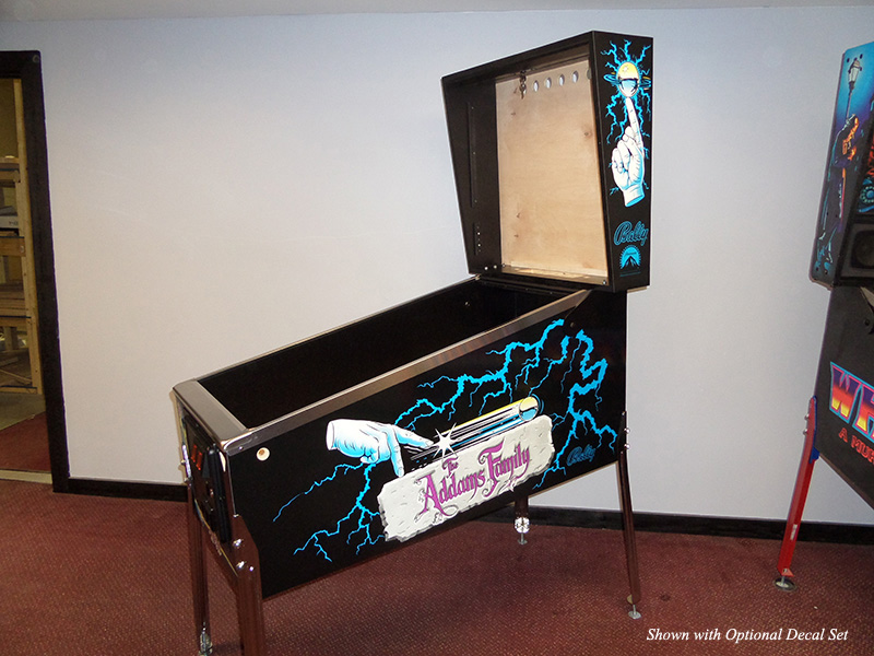 WPC-style Standard Body Virtual Pinball Cabinet - Fully Trimmed