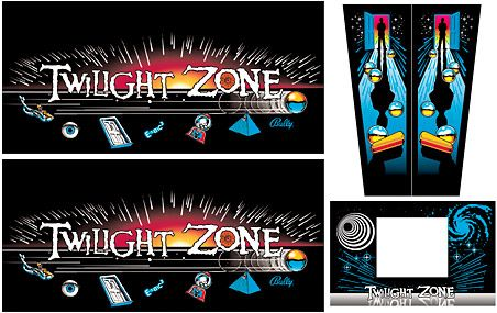 Cabinet Decals Twilight Zone Pps Tz Cabsetng 299 95