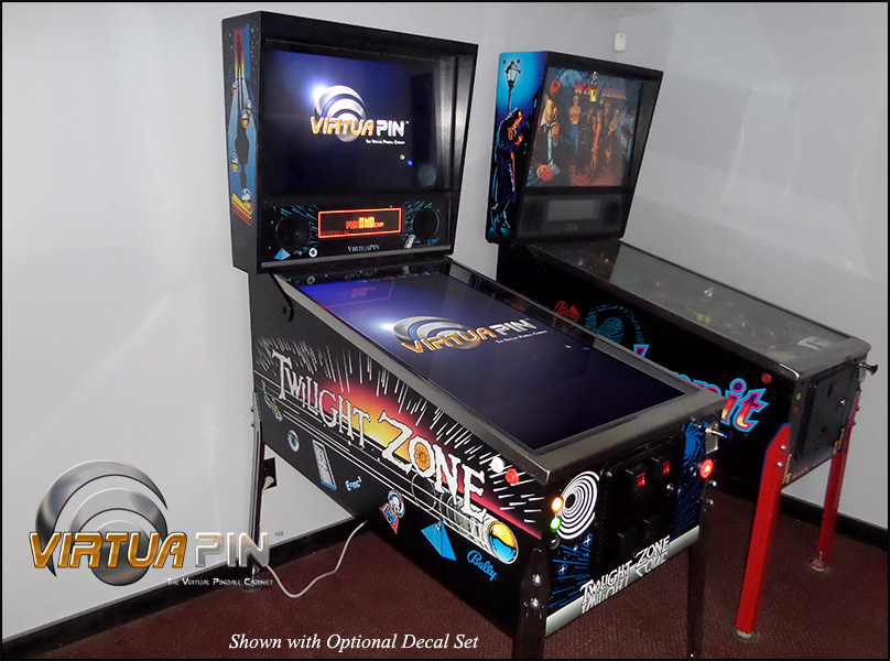 VirtuaPin™ Ultra-Widebody Virtual Pinball Machine - 1080p
