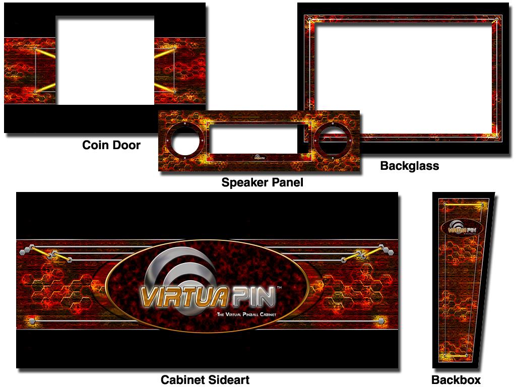 VirtuaPin Cabinets : VirtuaPin, The Virtual Pinball Cabinet