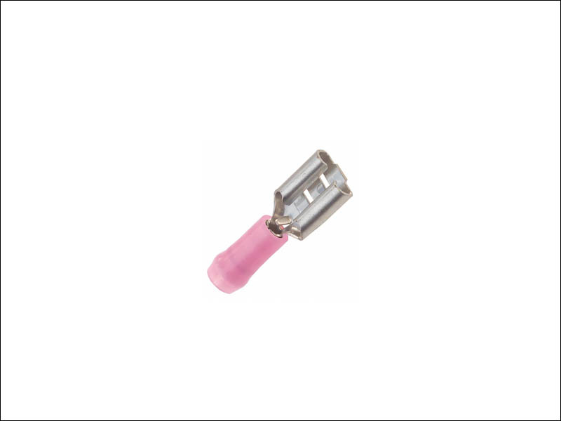 "Quick Connect Female 18-22 AWG Crimp Connector - 0.250"" (6.35mm)"