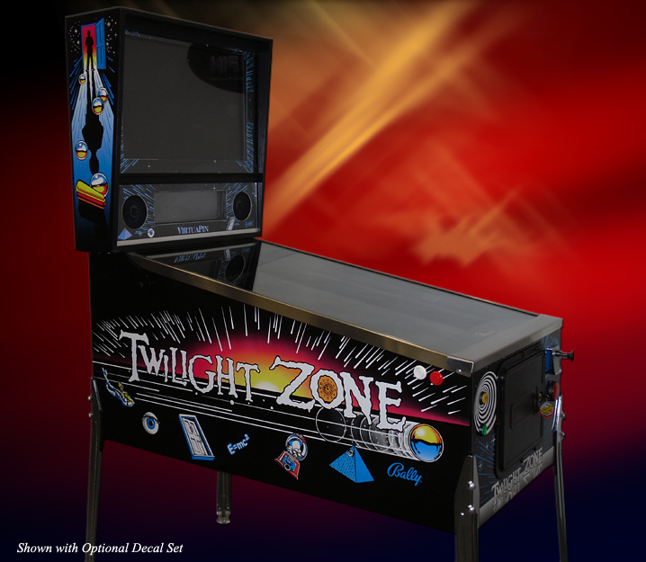 VirtuaPin™ Widebody Virtual Pinball Machine - 1080p