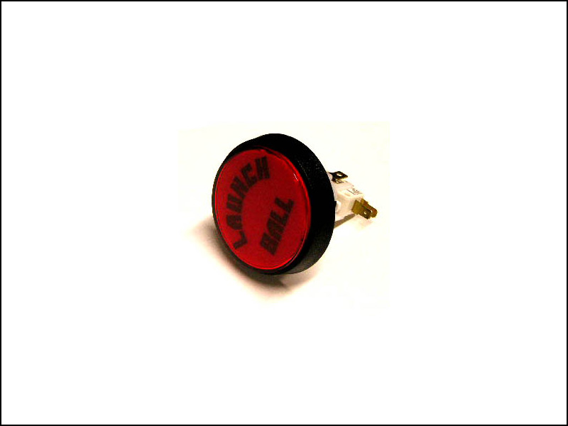 "Williams/Bally ""Launch Ball"" Button - Red"