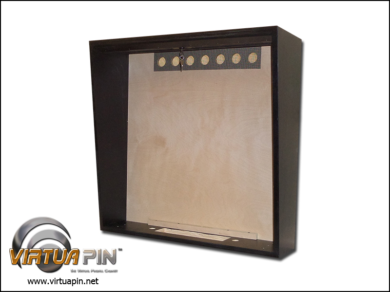 WPC-style Virtual Pinball Backbox - Satin Finish